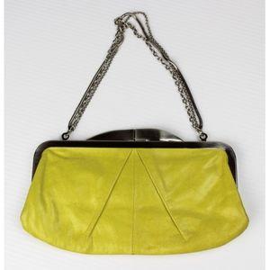 Hobo International Leather Kiss Lock Clutch Wallet